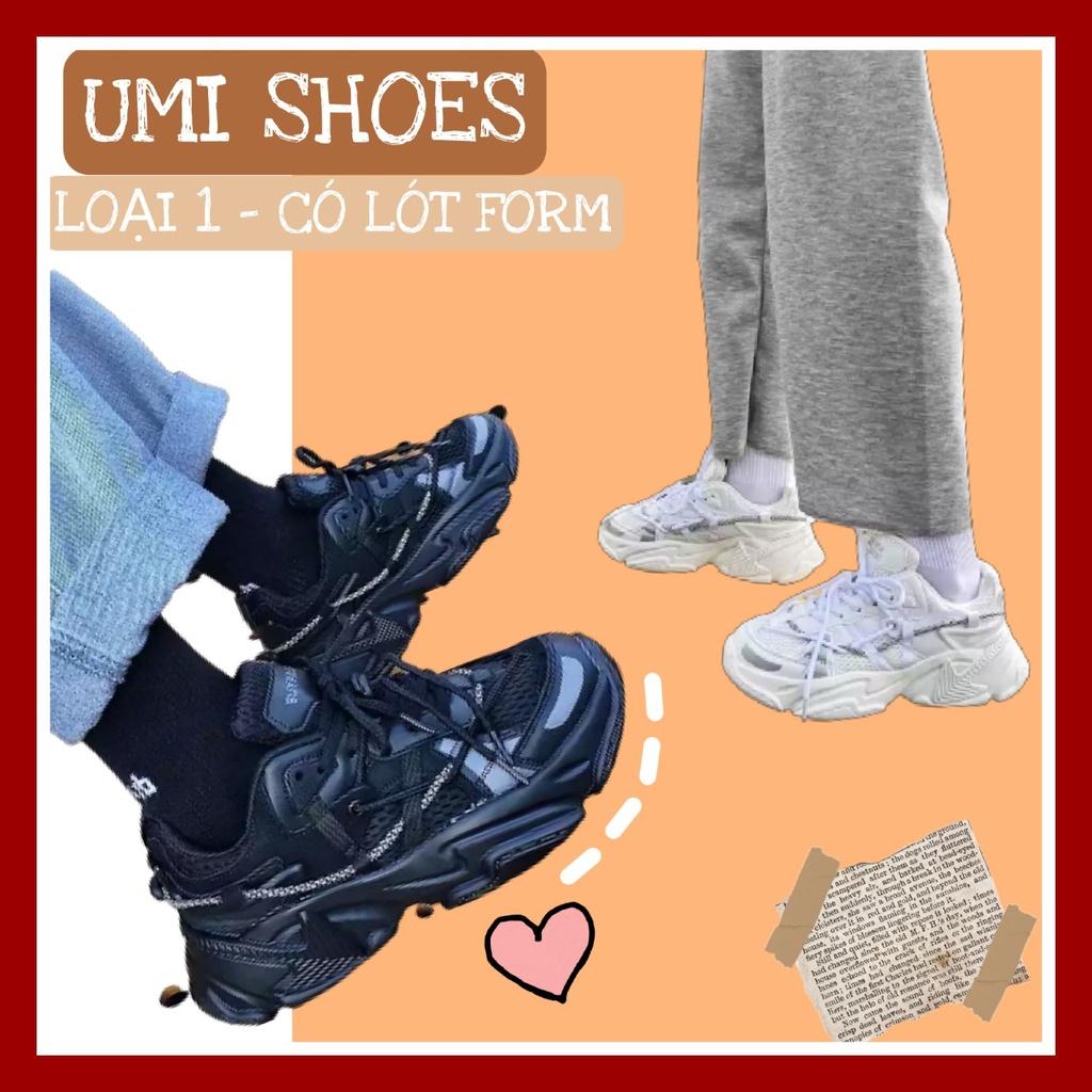 [NOWSHIP HN] Giày thể thao nữ ulzzang mã Arrow24 nâng độn đế 6cm kiểu mới cá tính trẻ trung đi học đi chơi bền đep rẻ