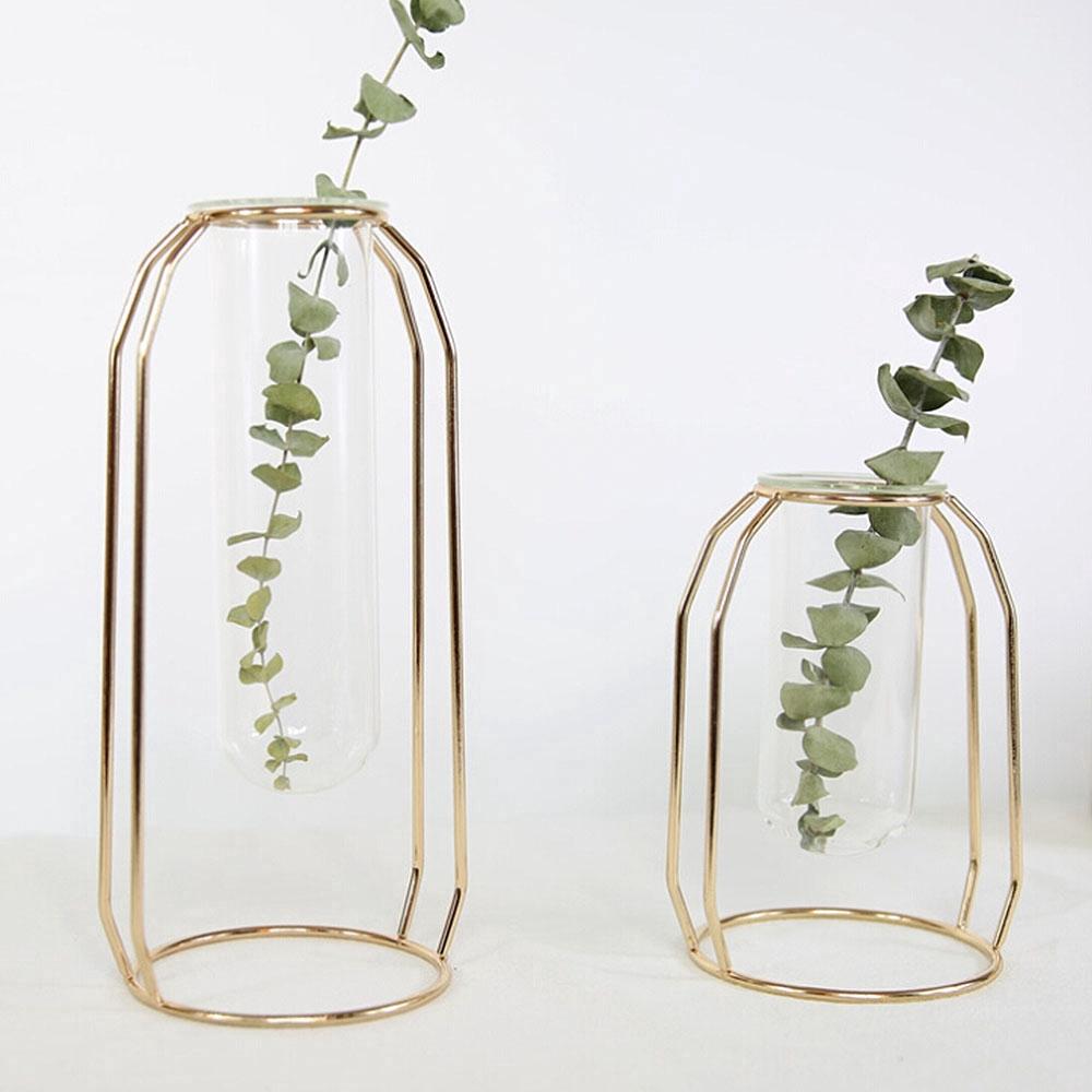 Bình hoa nghệ thuật bằng thủy tinh phong cách Bắc Âu