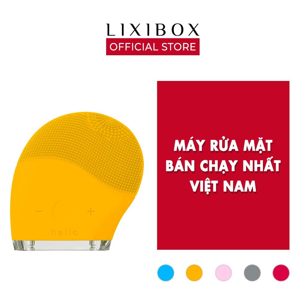 Máy Rửa Mặt Và Mát Xa Da Mặt Halio Bảo Hành 2 năm, Chính Hãng Lixibox