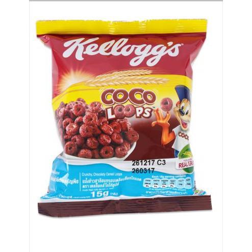 12 gói Ngũ Cốc Thái lan kelloggs CoCo Loop 15g