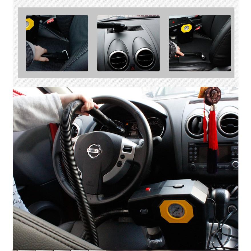 Máy hút bụi đa năng cao cấp có chức năng bơm lốp ô tô và rọi đèn - 3555016 , 1322850455 , 322_1322850455 , 685000 , May-hut-bui-da-nang-cao-cap-co-chuc-nang-bom-lop-o-to-va-roi-den-322_1322850455 , shopee.vn , Máy hút bụi đa năng cao cấp có chức năng bơm lốp ô tô và rọi đèn