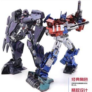 Mô Hình Lắp Ráp Kim Loại transformer mẫu mới nhất