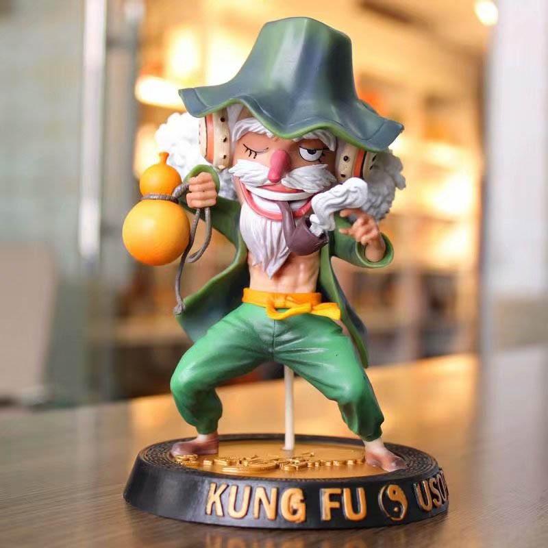 Mô hình nhân vật Usopp phiên bản kungfu PVC trong One Piece | Shopee Việt  Nam