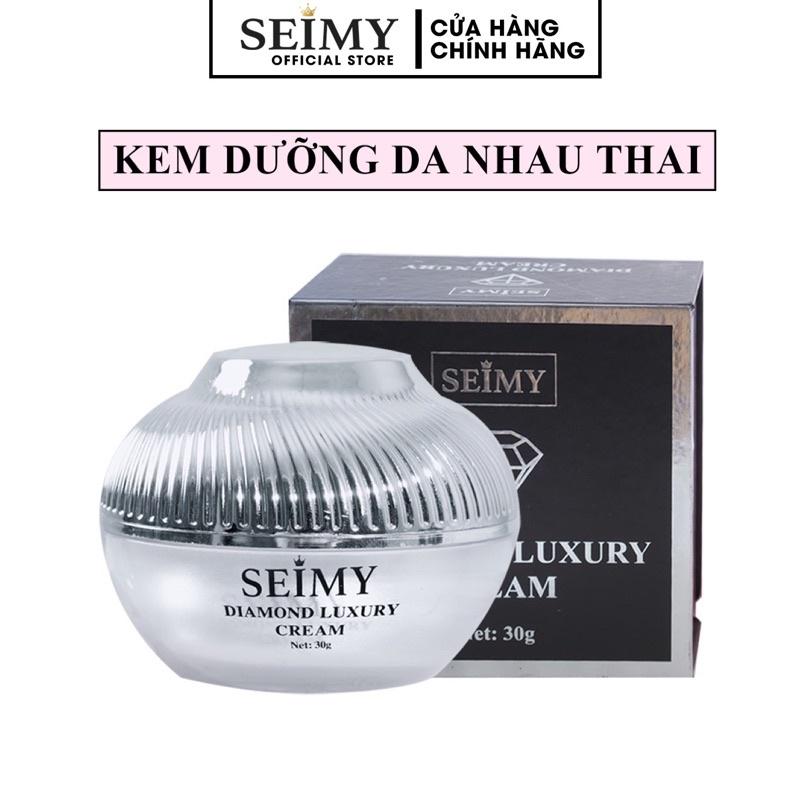 Kem dưỡng da mặt ban đêm face nhau thai Seimy - Diamond Luxury dưỡng trắng , cấp ẩm, mờ nám, giảm mụn