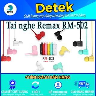 Tai nghe có dây chính hãng Remax RM - 502