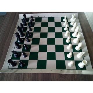 Bộ cờ vua tiêu chuẩn thi đấu size lớn( kèm 2 quân Hậu )