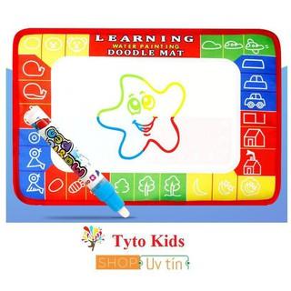 Đồ chơi thảm ma thuật kỳ diệu 4 màu tự xóa cho bé – size nhỏ 20×30 cm