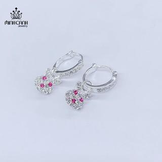 Bông Tai Trẻ Em Hình Thỏ Xinh Xắn - Minh Canh Jewelry