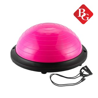 BG Bóng tập YOGA bóng tập thể lực thăng bằng BALL BALANCE Bosu (Pink) thumbnail