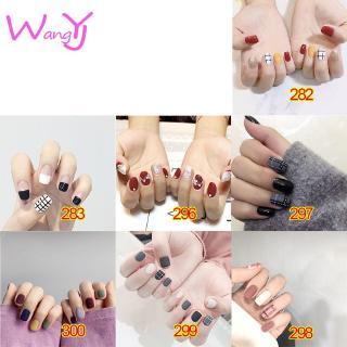 Nhãn dán trang trí móng tay đầy màu sắc không thấm nước cho nữ Yw282-300 thumbnail