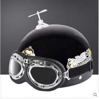 [Giá Sỉ] [Nhập mã TOYJUNE giảm 10K]Chong chóng doremon gắn mũ bảo hiểm cute