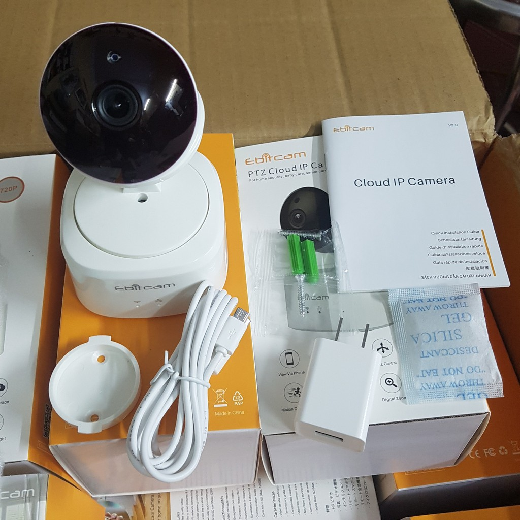 Camera Wifi EbitCam New 2019 Siêu Nét