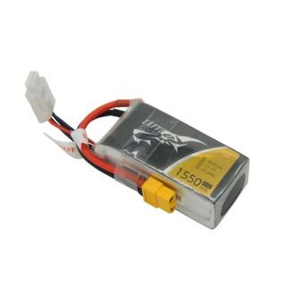Pin TATTU 1550mAh 11.1V 45C 3S1P LiPo (XT60 Plug)