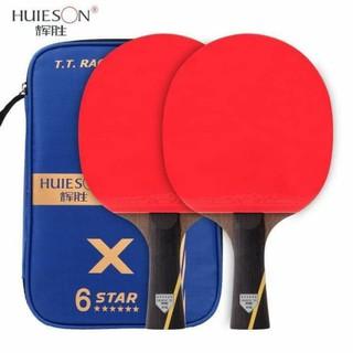 Combo cặp vợt túi bóng Huieson