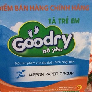tã quần goodry combo xxL