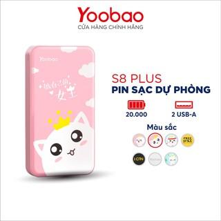 Sạc dự phòng Yoobao S8 PLUS 20000mAh