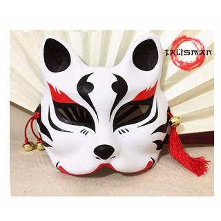 Mặt nạ cáo vẽ_27 (Mask fox-cosplay)