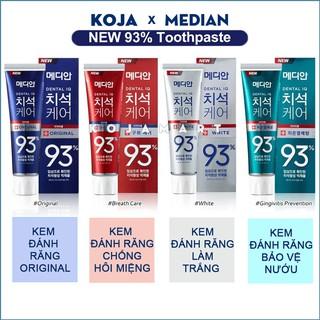 Kem đánh răng trắng sáng Hàn Quốc MEDIAN DENTAL IQ 93% 120g