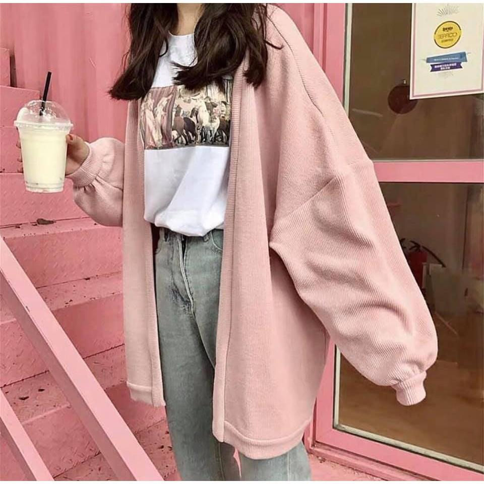áo khoác jacket cardigan basic v1