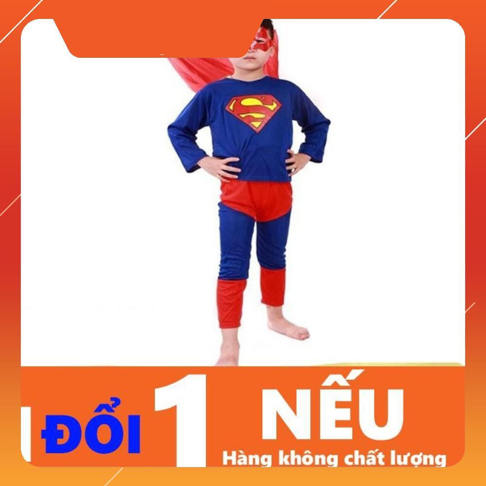 {Giảm 10%} Quần Áo Superman Cho Bé