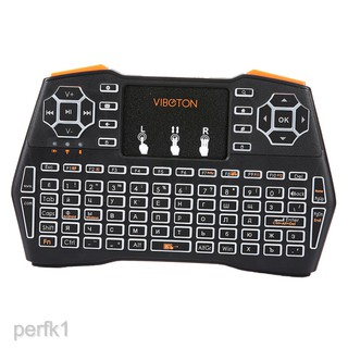 Bộ bàn phím không dây cầm tay I8 plus 2.4GHz chuyên dụng cho TV box