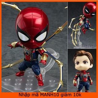 [Nhập mã MANH10 giảm 10K] Mô hình Iron Spider Man – Người Nhện (Hộp FullBox)