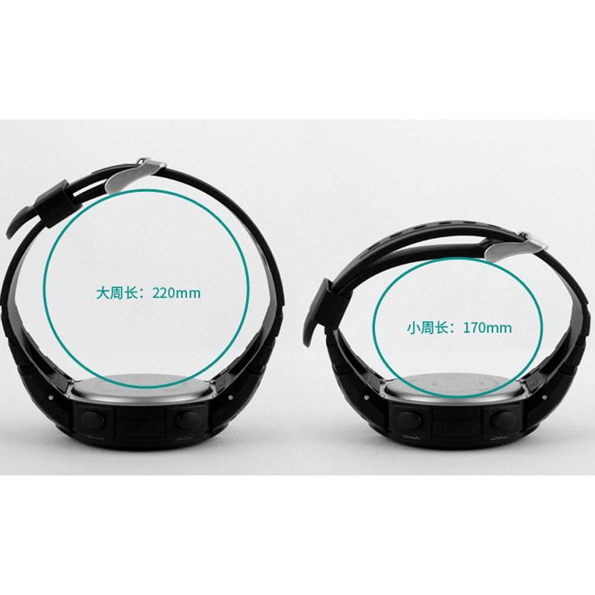Đồng hồ nam Skmei 1068 thể thao điện tử dây cao su