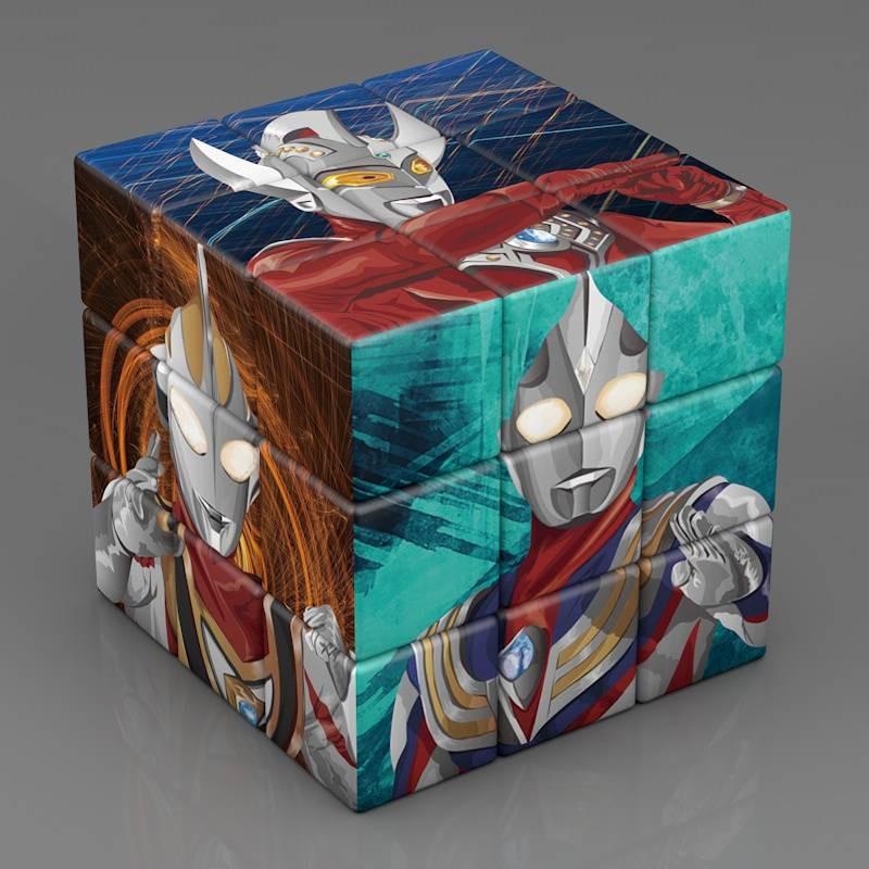 màu lật Numbers Puzzle Sự sáng tạo khối lập phương của Rubik