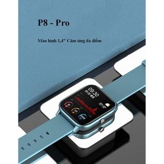 Đồng hồ Colmi P8 Sport Chính Hãng thay hình nền, chống nước, màn hình cảm ứng, nhận thông báo zalo, facebook thumbnail