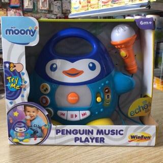 Đàn nhạc winfun chim cánh cụt ( hàng quà tặng bỉm moony )