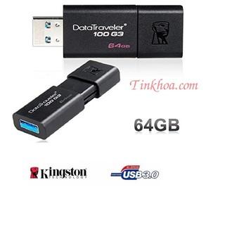 USB 3.0 64GB Kingston DT100