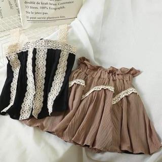 Sét áo hai dây kèm chân váy thumbnail