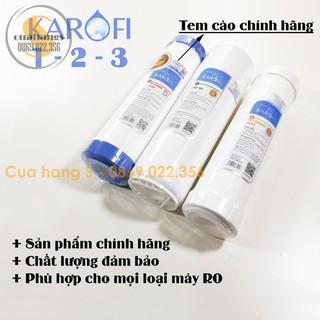 Lõi lọc nước RO Karofi 1 2 3 chính hãng