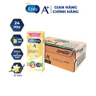 Thùng 24 hộp Sữa nước Enfagrow A+ 4 RTD Vani 180ml hộp thumbnail