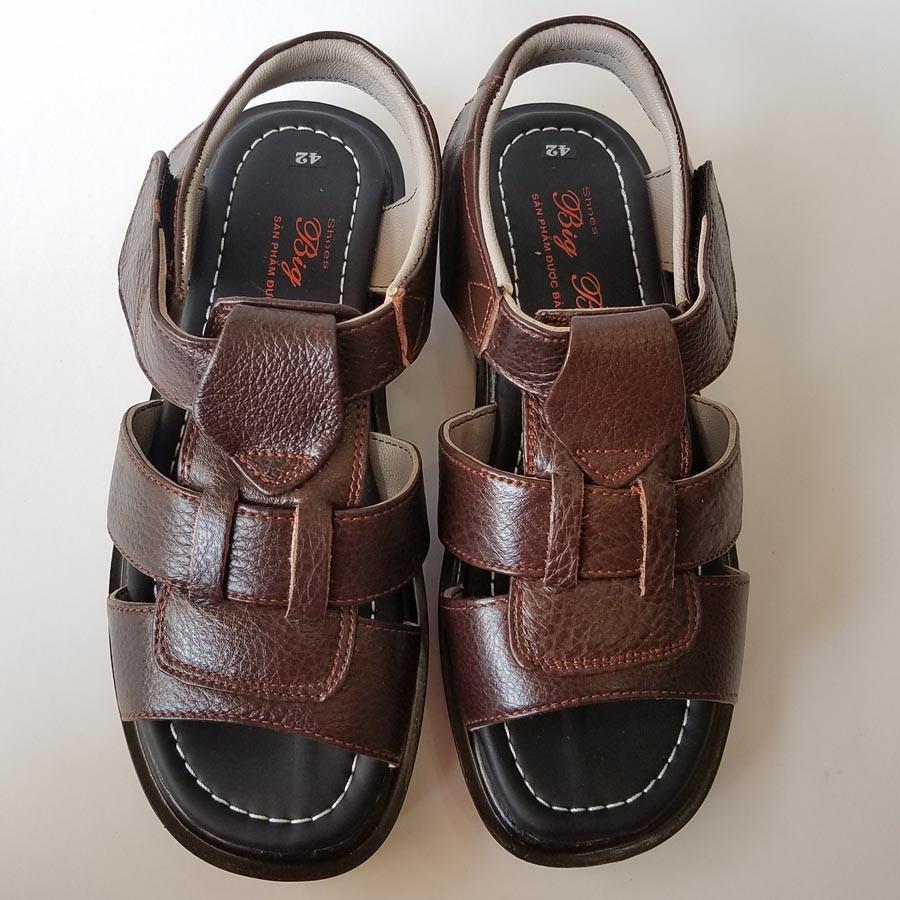 Giày SanDal Nam HKT Shop Da Bò Thật Cao Cấp SD148