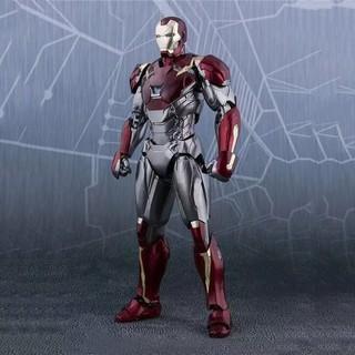 Mô hình Iron Man Mark 47 SHF Spider man Homecoming