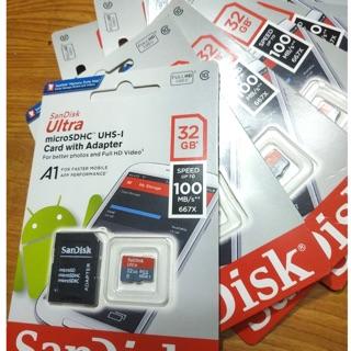 Thẻ nhớ sandisk 4G/8G/16GB/32GB/64G tốc độ cao chuyện dụng cho Điện thoại, Camera IP, loa đài, laptop 80MB/S