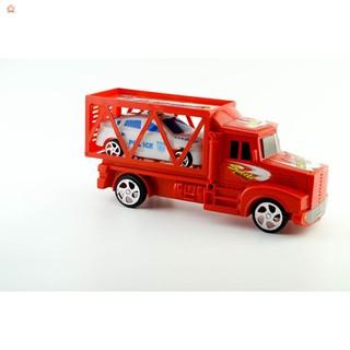 Bộ xe ô tô kéo và 1 xe ô tô con cho bé yêu thỏa sức vui đùa SALE ALL