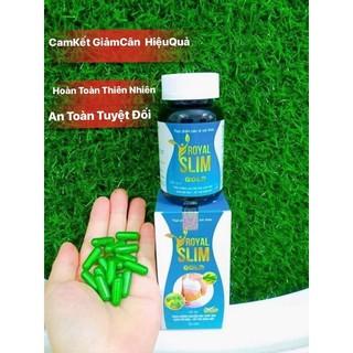 Combo 2 Hộp Viên Uống Giảm Cân Royal Slim Gold Minh LaDy Beauty thumbnail