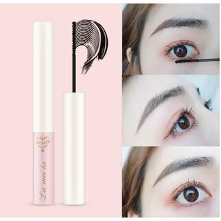Mascara siêu mảnh Lameila chuốt mi dài mịn hàng nội địa Trung vỏ hồng