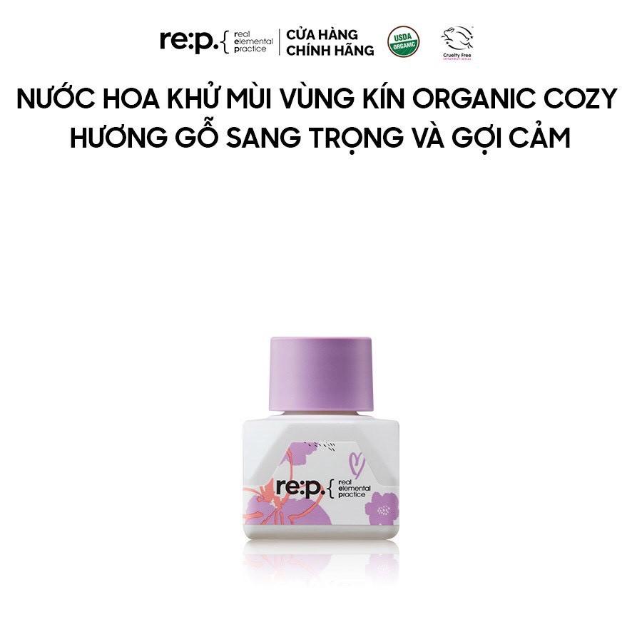 Nước Hoa Vùng Kín Organic Cozy Hương Gỗ Sang Trọng Và Gợi Cảm RE:P Natural Herb Inner Balance Cosy 5ml