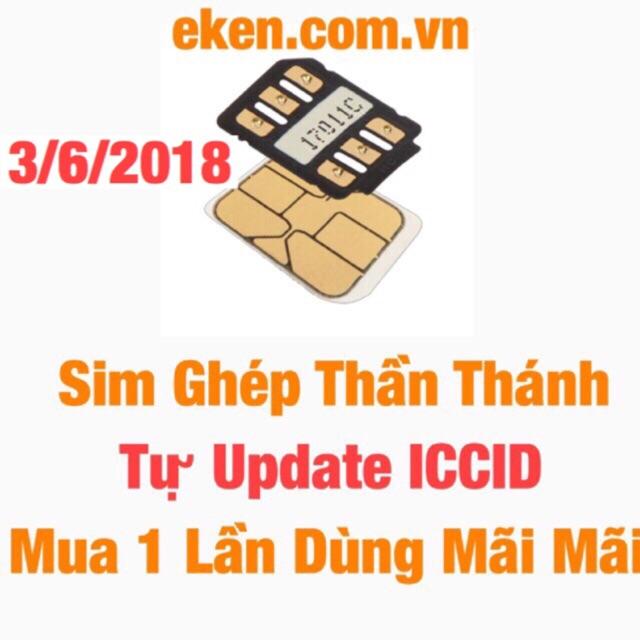 Sim Ghép Thần Thánh Có Thể Tự Update ICCID Clu