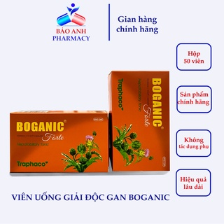 Viên uống Giải độc gan Boganic – Traphaco – Hàng chính hãng