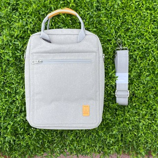 [Cam kết chính hãng] Cặp, Túi đeo dọc chống sốc WiWu Vertical cho Macbook/Laptop – 13/14/15/16 inch (Màu xám)