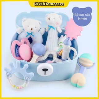 👑MẪU MỚI 2020👑Bộ đồ chơi xúc xắc gặm nướu cho bé từ 0 – 24 tháng
