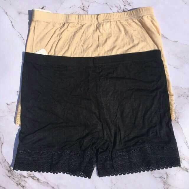 Quần mặc trong váy chất thun cotton | WebRaoVat
