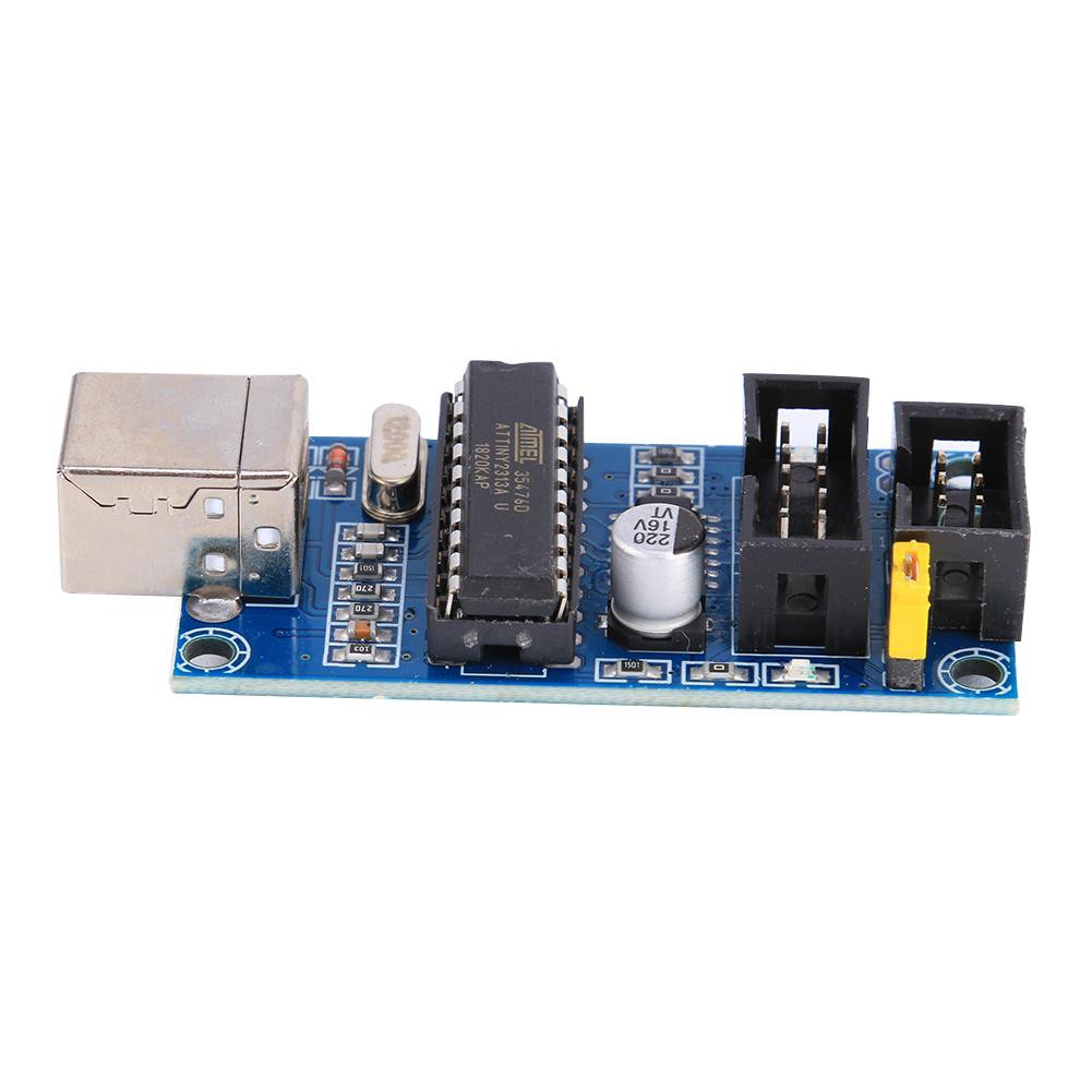 FL♈ USBtinyISP AVR ISP Programmer Bootloader Module with 6Pin Programming Cable Giá chỉ 150.000₫