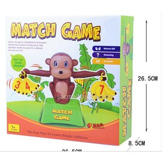 KHỈ CON HỌC TOÁN – MONKEY MATCH GAME