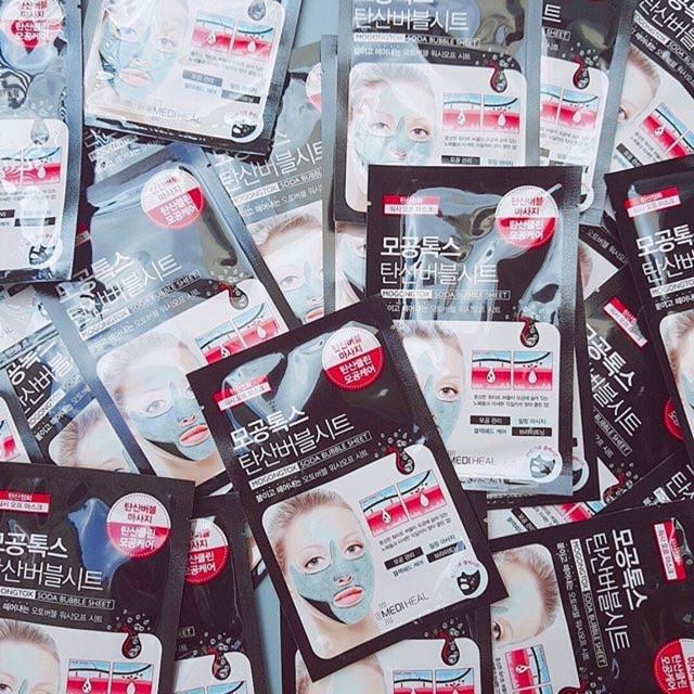 Mặt nạ sủi bọt thải độc, tẩy tế bào chết Mediheal Mogongtox Soda Bubble Sheet - 2744037 , 1104636147 , 322_1104636147 , 45000 , Mat-na-sui-bot-thai-doc-tay-te-bao-chet-Mediheal-Mogongtox-Soda-Bubble-Sheet-322_1104636147 , shopee.vn , Mặt nạ sủi bọt thải độc, tẩy tế bào chết Mediheal Mogongtox Soda Bubble Sheet