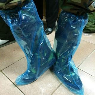 Ủng nilon bọc giày đi mưa